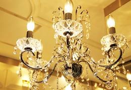 素敵なお部屋が際立つ照明器具。